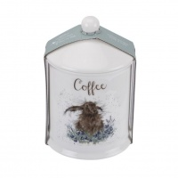 Portmeirion Canister Coffee Wrendale Hare
