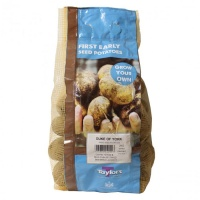 Taylors Bulbs Duke Of York Seed Potatoes 2kg Carry Net