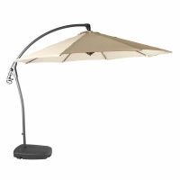 Bramblecrest Gloucester 3m Sand Side Post Parasol & Base