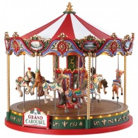 Lemax The Grand Carousel - Sights & Sounds Table Piece (84349)