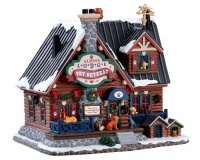 Lemax Alpine Lodge Pet Retreat - Lighted Building (75255)