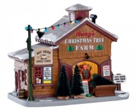 Lemax Hernys Christmas Tree Farm - Lighted Building (75257)