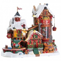 Lemax Elf Made Toy Factory - Sights & Sounds Table Piece (75190)