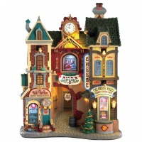 Lemax Ye Olde Cobblestone Road - Lighted Facade (85316)