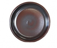 Woodlodge Brown Glazed Saucer 36cm