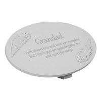 W & Co Thoughts Of You Memorial Plaque Grandad