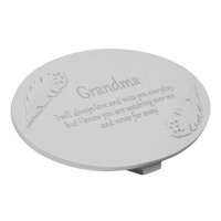 W & Co Thoughts Of You Memorial Plaque Grandma