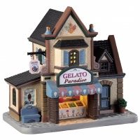 Lemax Gelato Paradise - Lighted Building (95494) *New 2019*