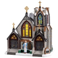 Lemax St Matthews Church - Lighted Building (95506) *New 2019*