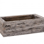 Woodlodge 31cm Driftwood Trough