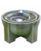 Kelkay Fossil Water Feature Including LED