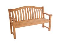Alexander Rose 5ft Bench Turnberry Mahogany