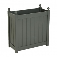 AFK Tall Classic Trough 660mm Charcoal
