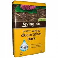 Levington Water Saving Decorative Bark 60ltr Bag