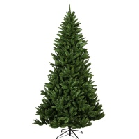 Puleo Evergreen Spruce 8ft Artificial Christmas Tree