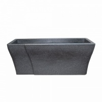 Stewart Wave Granite Effect Trough Planter 70cm
