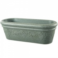 Stewart Garden Grapes Trough - Marble Green 80cm