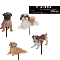 Vivid Arts Plant Pal Real Life Canine Ornament (4 Design Choices)