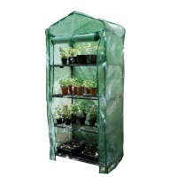 Gardman 4 Tier Compact Growhouse With Heavy Duty Reinforced Cover
