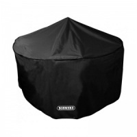 Bosmere Storm Black 4-6 Seater Circular Patio Set Cover (D520)
