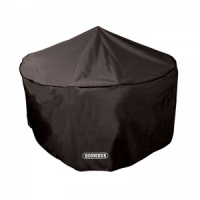 Bosmere Storm Black 6-8 Seater Circular Patio Set Cover (D523)