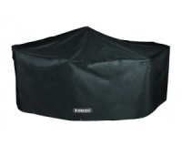 Bosmere Storm Black 6 Seater Rectangular Patio Set Cover (D530)