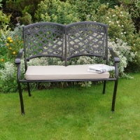 Supremo Pescara Cast 2 Seat Bench Set