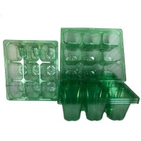 9 Cell Clear Plug Tray - Set of 5 Trays