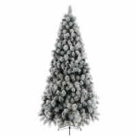 Kaemingk Everlands Snowy Vancouver Mixed Pine 7ft (2.1m) Christmas Tree (689132)