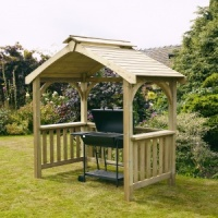 Anchor Fast Devon Wooden BBQ Shelter