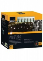 Cole and Bright 200 Solar String Lights