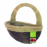 Gardman Seagrass & Natural Grass Wall Basket 16'' (02767)
