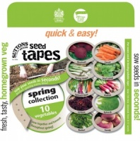 Suttons Seed Tapes - Spring Collection