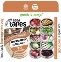 Suttons Seed Tapes - Autumn Collection