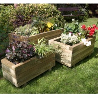 Zest 4 Leisure Gresford Wooden Planter