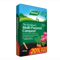 Westland The Gardeners Multi -Purpose Compost 50ltr Plus 20% Extra Free